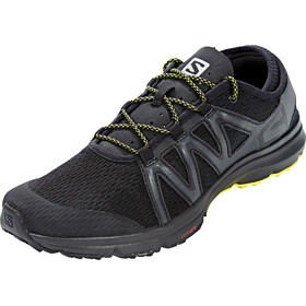 Salomon Crossamphibian Swift Shoes Men black/phantom/sulphur spring